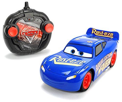Dickie Toys 203084009 - Cars 3 Turbo Racer Fabulous Lightning McQueen, RC Fahrzeug, ferngesteuertes Auto, 1:24, 17cm