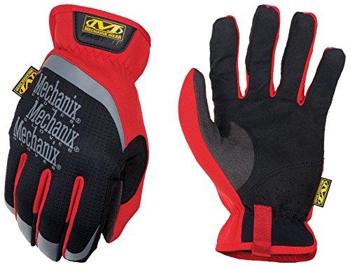 Mechanix Fast Fit guantes–par, color rosso, tamaño 10/L
