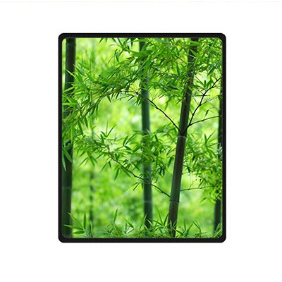 "Personal Custom green bamboo Mikrofaserdecke Cozy kuscheldecke Fleeze Blanket 40\"" x 50\"" about 102cm x127cm"