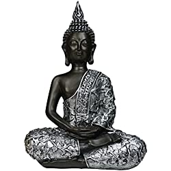 khevga Dekorationsartikel Deko-Figur Buddha Statue sitzend 30cm