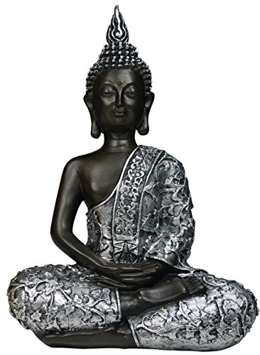 khevga figura decorativa de buda sentado 30 cm mundo misterioso. Black Bedroom Furniture Sets. Home Design Ideas