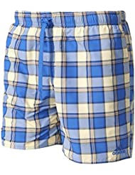 adidas Check Short Sl Bañador, Hombre, Azul (Amasen / Azul / Grimed), XL