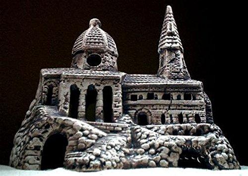 s Höhle Kloster Sand Fisch Keramik Dekoration Salzwasser ()