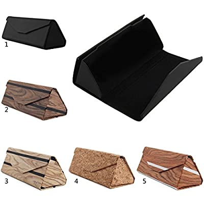 Fansport Men's Sunglasses Case Eyewear Glasses Case Triangle Glasses Holder Case Eyeglasses Case