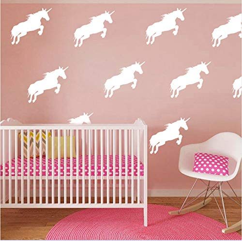 nicorn Wandaufkleber Little Unicorn Wandtattoos Diy Geschnitten Vinyl Home Decoration Vinyl Dekore Easy Wall Art Decals ()