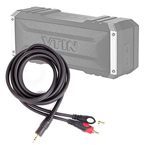 DURAGADGET Excelente Cable De Audio Minijack / RCA Para Altavoz Portátil Vtin Royaler / Vtin Punker