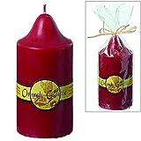 KUHEIGA Church Candle, Kirchenkerze, rot ; Brenndauer 60 Stunden