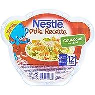 Nestlé Bébé P'tite Recette Couscous Assiette dès 12 mois 200g - Lot de 6
