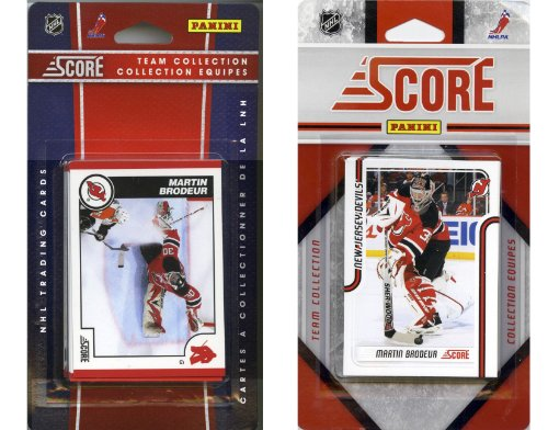 HL New Jersey Devils Lizenzprodukt Score 2 Team Sets ()