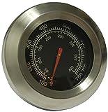 Music City Metals 00016 Temperaturanzeige für Gasgrills der Marken Blooma/Grill Chef/Jamie Oliver/Montana/Phoenix-Uk und Swiss Grill - Mehrfarbig