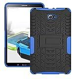 Hybrid Outdoor Schutzhülle Cover Schwarz / Blau für Samsung Samsung Galaxy Tab A 10.1 T580 T585 Tasche Case