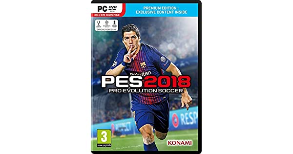 Buy PES 2018 (PC) Online at Low Prices in India   Konami