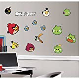 Birds Removable Wall Decoration Halloween Size Angry Angry Birds Removable Wall Decorations: (japan import)