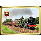 Stewart's Scotland Traditional Luxury Shortbread Rounds - Over 40 Years of Heritage Classic Collection Flying Scotsman Design