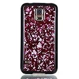 adorehouse per Samsung Galaxy S5 i9600 Copertina Sottile Cristallo Morbido Antiurto Lucido Conchiglia Ultra Magro in Forma Anti-graffio Morbido Copertina TPU Protettivo Flessibile Conchiglia - Rosso