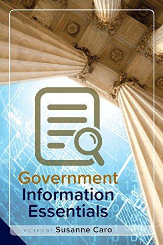 Government Information Essentials (English Edition) por Susanne  Caro