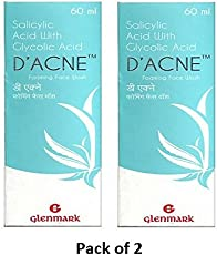D'acne Foaming Face Wash (60 ml) (Pack of 2), from LifeLine Medicos
