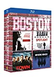 Coffret Welcome To Boston : Strictly Criminal + Spotlight + The Town + Mystic River [Blu-ray]