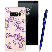 Yokata Samsung Galaxy Note 8 Hülle Transparent Glitzer Weiche Silikon Handyhülle Schutzhülle TPU Handy Tasche... preisvergleich bei billige-tabletten.eu