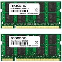 8GB Dual Channel kit (2x 4GB) para Dell XPS M1330DDR2800MHz (PC2–6400S) So DIMM Memoria RAM Memory