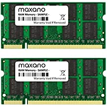 4 GB Dual Channel kit (2 x 2 GB) para Toshiba Satellite L350D DDR2
