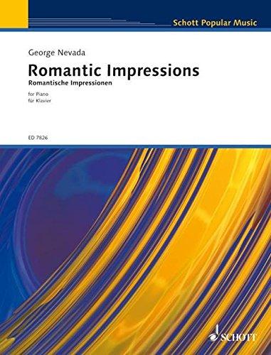 Preisvergleich Produktbild Romantic Impressions: Klavier. (Schott Popular Music)