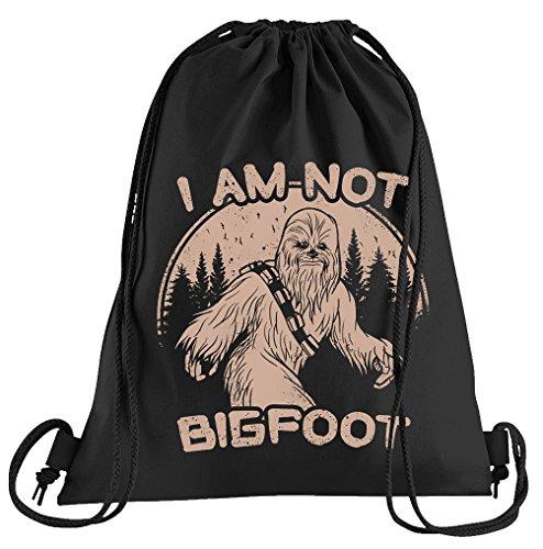 Not Bigfoot Sportbeutel - Bedruckter Beutel - Eine schöne Sport-Tasche Beutel mit Kordeln ()