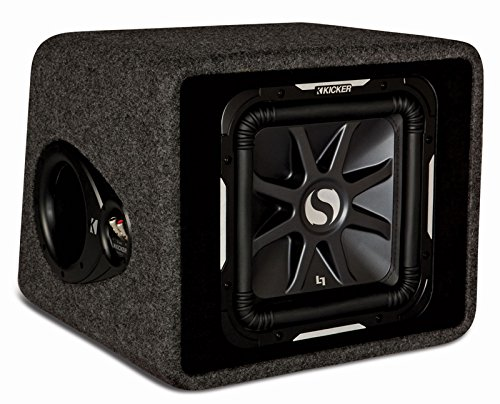 KICKER 11VS12L72 L7 Bassreflexbox Schwarz Kicker 12 Subwoofer