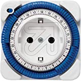 Theben TIMER 26 - Enchufe con temporizador, color blanco