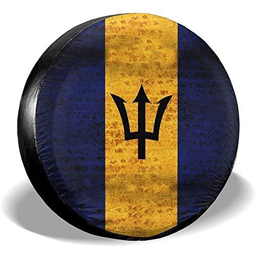 Alice Eva Coperture universali Impermeabili Antipolvere con Bandiera di Ricambio Bandiera Barbados