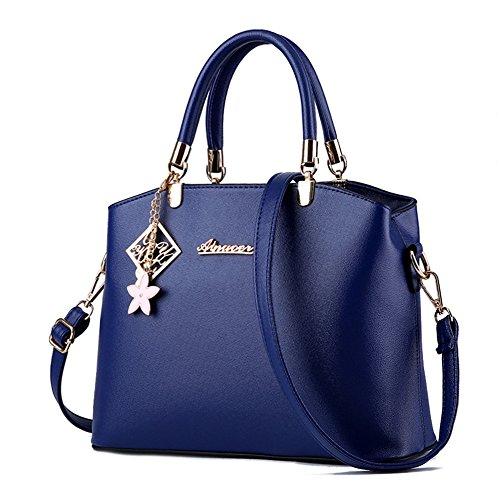 HerHe ,  Damen Tasche Marineblau