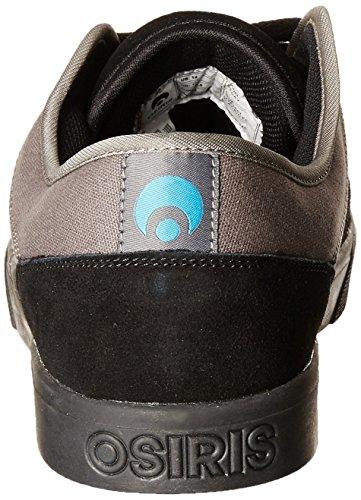 Osiris Decay 601801, Scarpe da Skateboard unisex adulto Black/Cyan