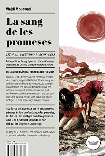 La sang de les promeses (Antípoda Book 18) (Catalan Edition) por Wajdi Mouawad