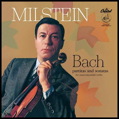 Bach Partitas & Sonatas For Unaccompanied Violin [Vinyl LP] (Bach Sonatas Violin Partitas)