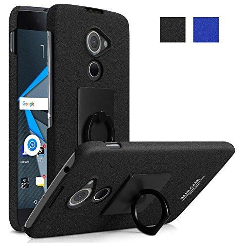 Unbekannt BlackBerry dtek60Fall, MicroP Super Frosted Shield Schutzhülle Hard Cover Schutzhülle mit Standfunktion & Bildschirmschutzfolie kompatibel für BlackBerry dtek60, schwarz