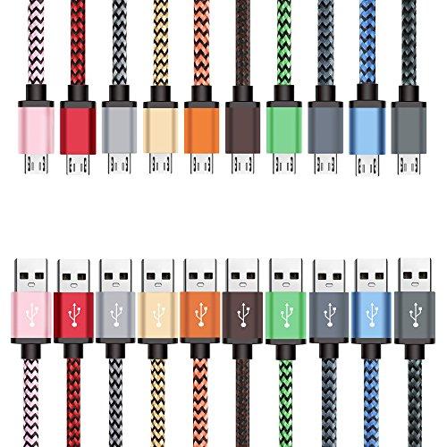 Micro USB Cavo, BeneStellar [10 Pack] Premium Micro USB Cavo