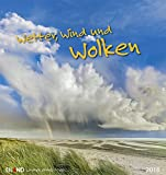 Wetter, Wind und Wolken 2018: Postkartenkalender -