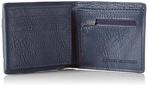 Element Herren Daily Wallet Geldbörse, 1x7x9 cm Blau (Eclipse navy)