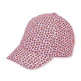 Sterntaler Baby-Mädchen Sonnenhut Baseball Cap, Rot (Feuerrot 807), Small (Herstellergröße: 51)