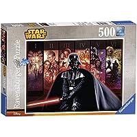 Ravensburger 14665 Star Wars La Saga di Guerre Stellari Puzzle, 500 Pezzi