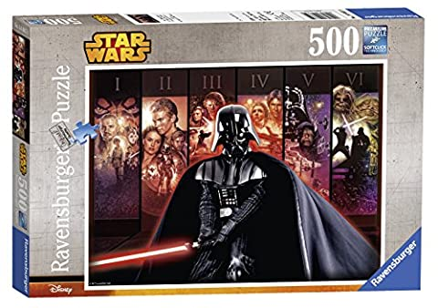 Ravensburger Puzzle 14665 - Star Wars Saga, 500-Teilig (Malen Nach Zahlen Star Wars)