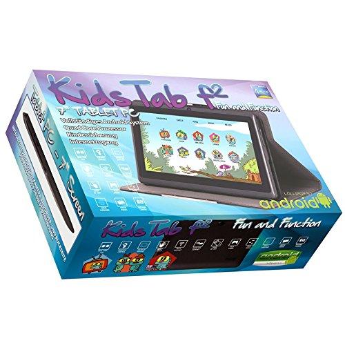 Snakebyte Kids Tablet f2 (Schwarz) - 17,7cm (7 Zoll) Android basiertes Tablet für Kinder …
