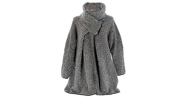 ebd0bfa3e9 Charleselie94 - Cappotto mantello lana cotta inverno taglia comoda ...