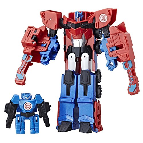 Transformers RID Combiner Force Activator Combiners Optimus Prime and Hi-Test Figure