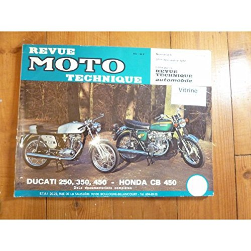 Rmt- Revues Techniques Moto - 250 450 Revue Technique moto Ducati Honda Etat - Bon Etat Occasion