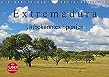 Extremadura - Unbekanntes Spanien (Wandkalender 2018 DIN A4 quer): Die Extremadura, das Herkunftsland der spanischen Konquistadoren, verzaubert Sie ... Orte [Kalender] [Apr 01, 2017] LianeM, k.A - CALVENDO