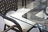 MySpiegel Glastisch Tischplatte 8mm 90x60 cm Glas Glasplatten Polierte Kante Klar Durchsichtig Glasscheiben Glasboden