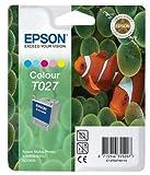 Epson T027 Tintenpatrone Fische, Multipack, 5-farbig