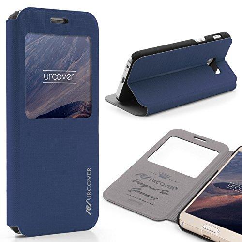 Custodia TPU Protettiva Silicone Samsung Galaxy A5 2017 Cover Proteggi Camera Case Morbida Scocca Ultrasottile in Blu Scuro