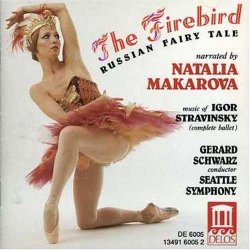 The Firebird-Fairy Tale (Makarova) by Igor Stravinsky (1997-11-14)
